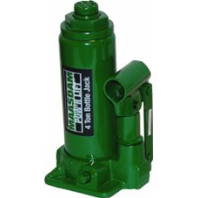 Maasdam MPL4B Bottle Jack , 4 Ton, Green